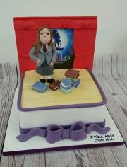 Matilda Birthday Cake