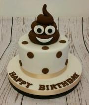 Poo Imoji Cake