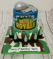 Fortnite Birthday Cake  tiered
