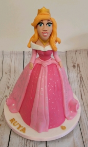 Princess Aurora  3d  birthday cake