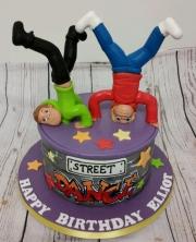 Street Dance birthday cake
