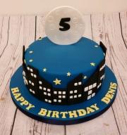 Night sky cake