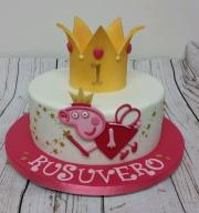 Peppa Pig Princess cake
