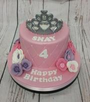 Princess Tiara cake