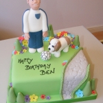 Boys-cake