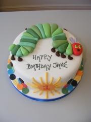 Caterpillar-cake