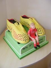 Football-boots-cake