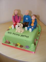 Grandchildren-cake