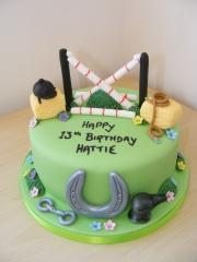Horse-theme-cake