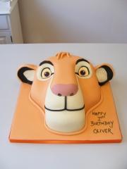 Lion-cub-face-cake