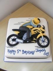 Motorbike-cake