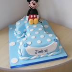 Number-1-Cake Mickey mouse