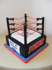 WWE-wrestling-ring-cake