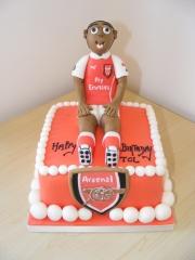 arsenal-football-cake