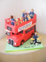 open-top-tour-bus London red Bus