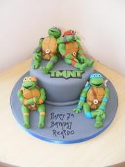 teenage-turtles-cake