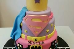 Girls Superhero cake