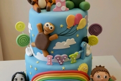 Baby tv 1st Birthday cake