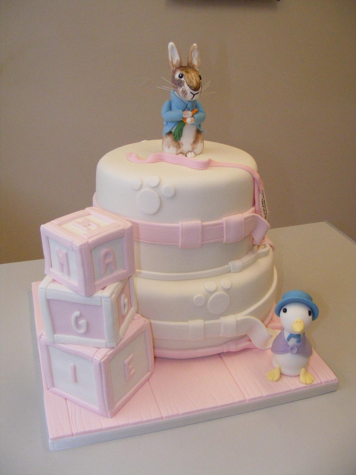 Christening Cakes Littlecakecharacters