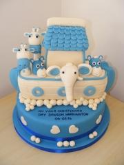 Arc Christening cake