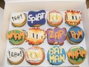 batman-themed-cupcakes
