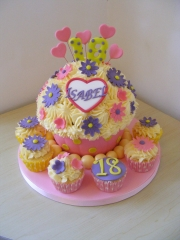 Giant-18th-Cupcake
