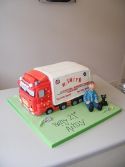 Lorry-truck-3d-cake