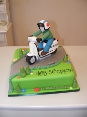 Scooter-cake-50th