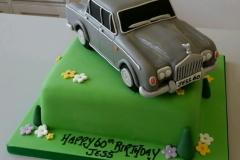 Mens Rolls Royce Shadow birthday cake