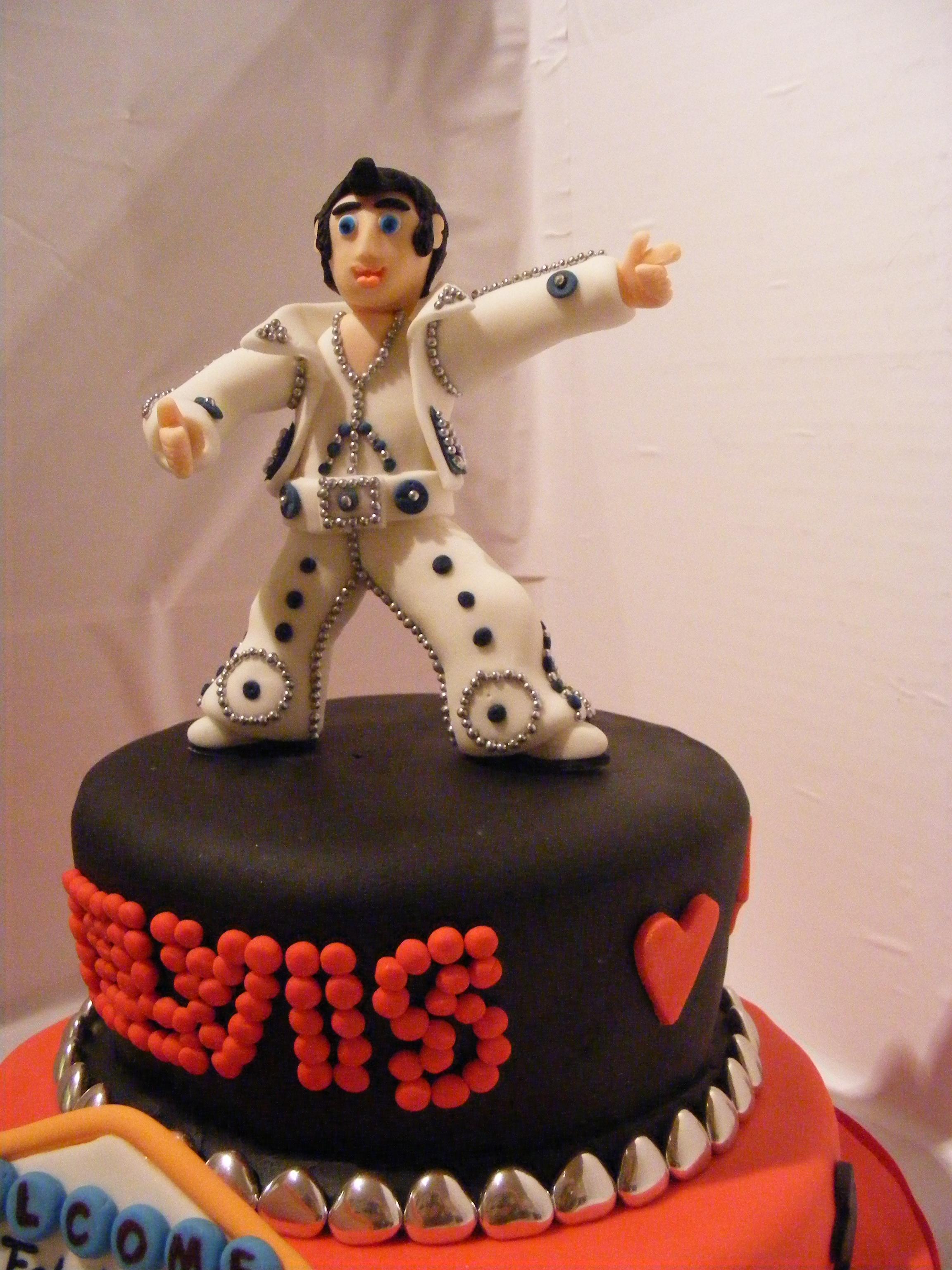 Elvis Presley Cake Toppers