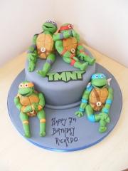 mutant-turtles-cake