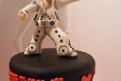 Cake Topper Elvis