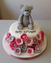 Ladies 30th birthday cake