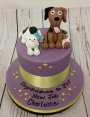Veterinary nurse new job cake