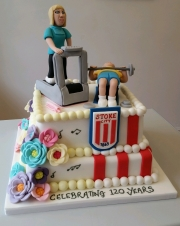 Two themed cake