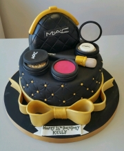 Make up birthday cake