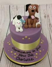 Veterinary nurse new job cake