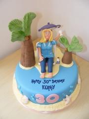 Beach-themed-cake