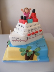 Cruise-ship-retirement-cake