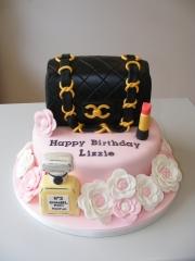 Handbag-and-perfume-cake