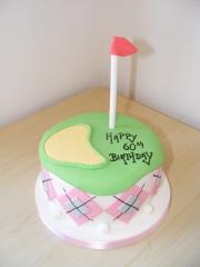Ladies-golf-cake