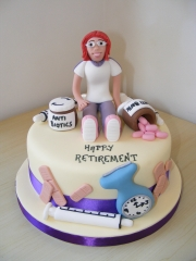 Nurses-Retirement-Cake