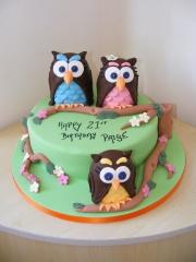 Owl-family-21st-Cake