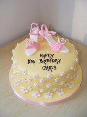 Shoe-topper-cake