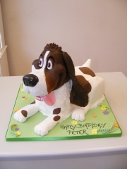 Springer-Spaniel-Dog-cake