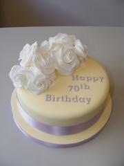 White-Roses-70th-Cake