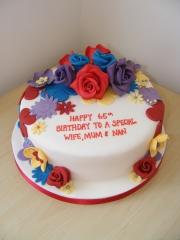 ladies-2d-3d-flower-cake