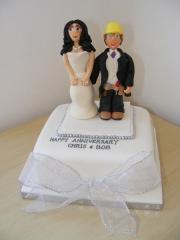 silver-wedding-cake
