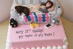 The Hangover Cake