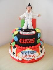 Elvis-Las-Vegas-tiered-cake